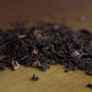loose leaf bourbon cream black tea