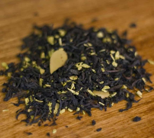 Coconut Almond black tea