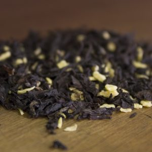 loose leaf coconut almond black tea