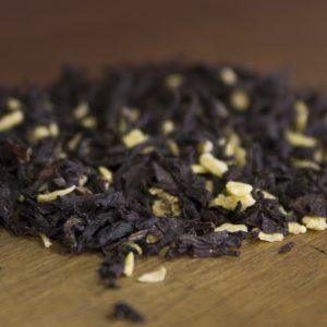 loose leaf coconut almond black tea