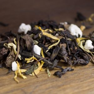lemon basil oolong tea