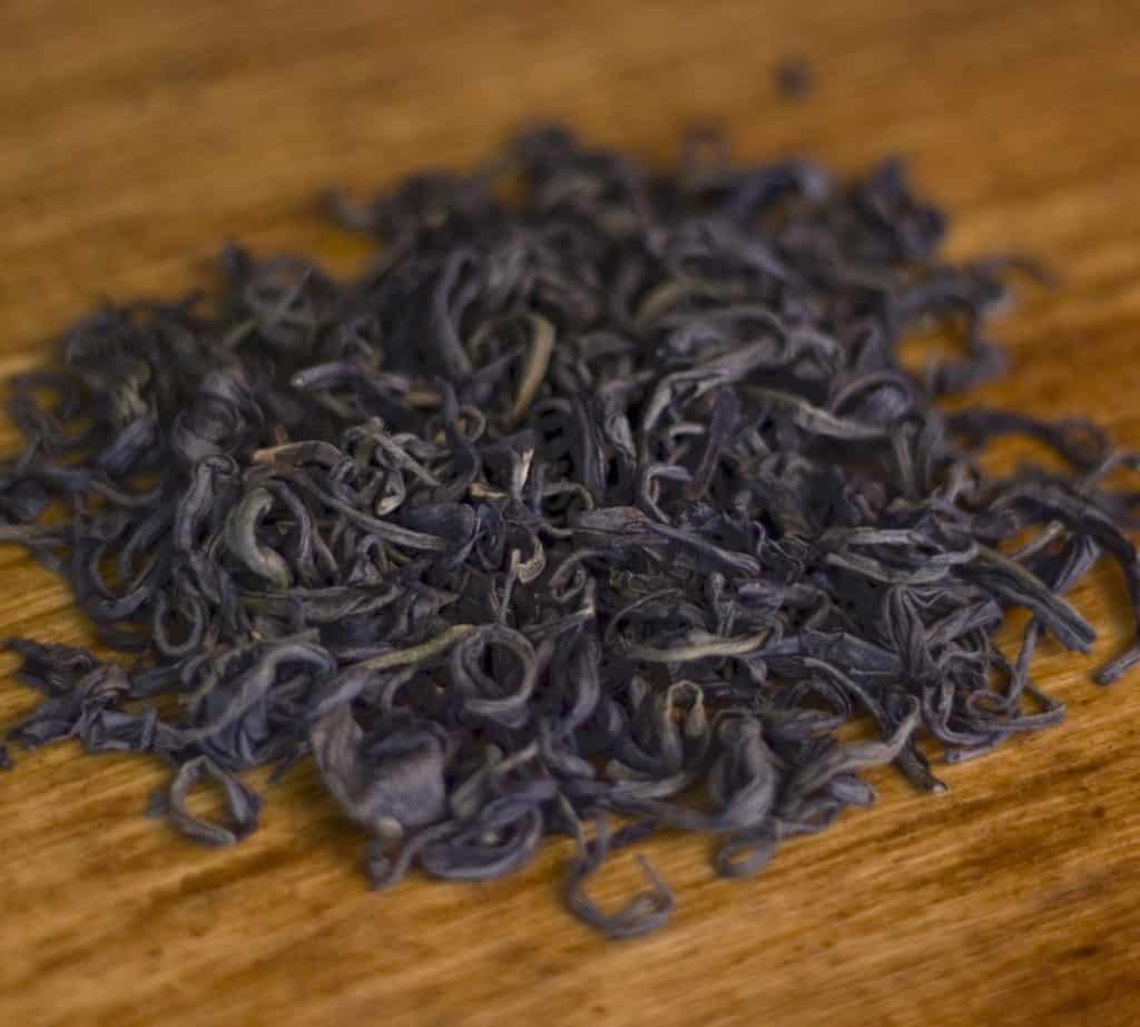 Kenyan Purple Leaf tea leaves