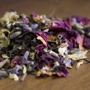 lavender rose black tea