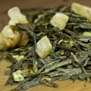 walnut coconut green tea