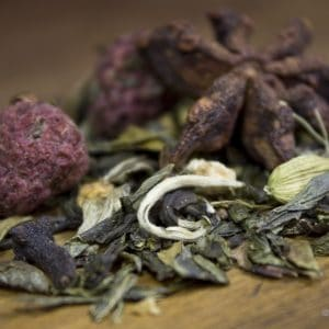 raspberry ginger white tea