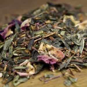 strawberry rooibos green tea