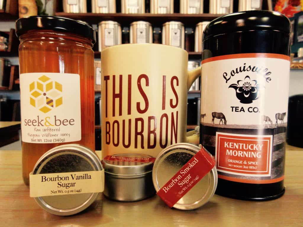 kentucky bourbon tea gift local honey