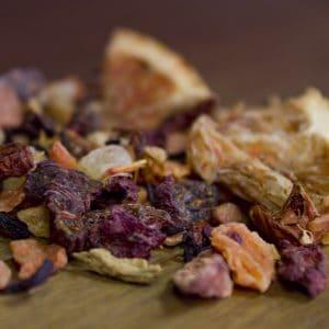 Blood Orange fruit tea