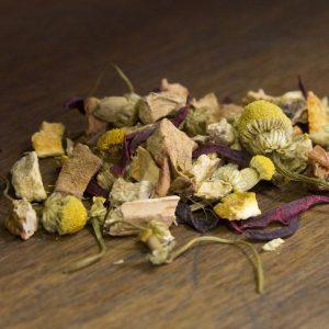 citrus ginger herbal tea