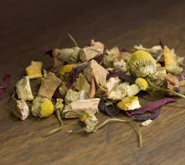 citrus ginger herbal tea