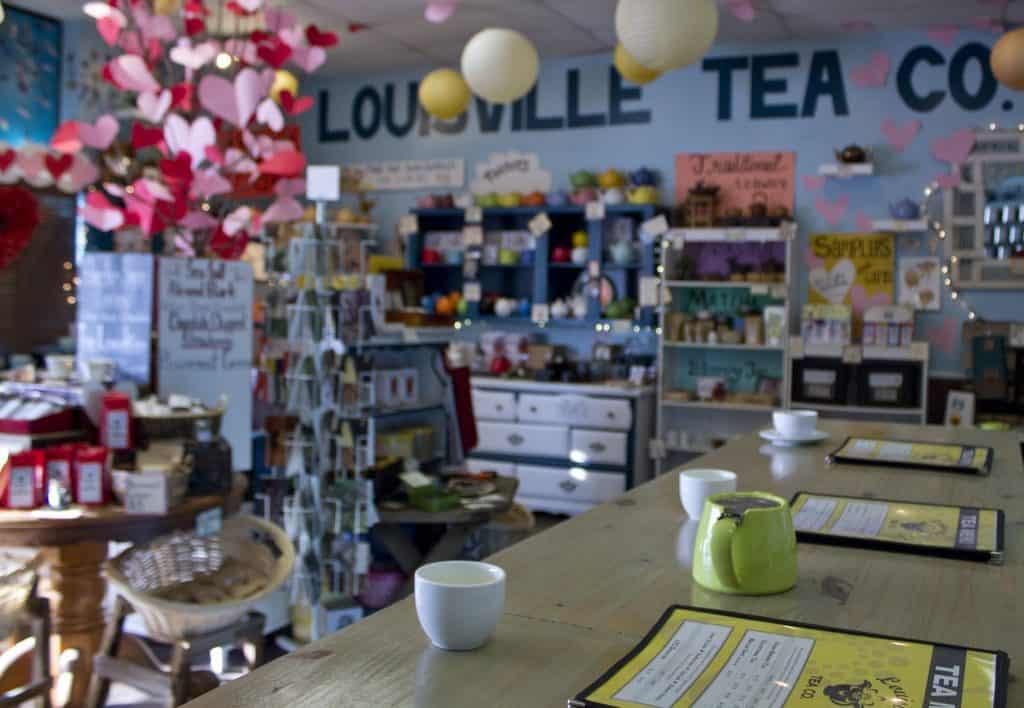 gift shop tea