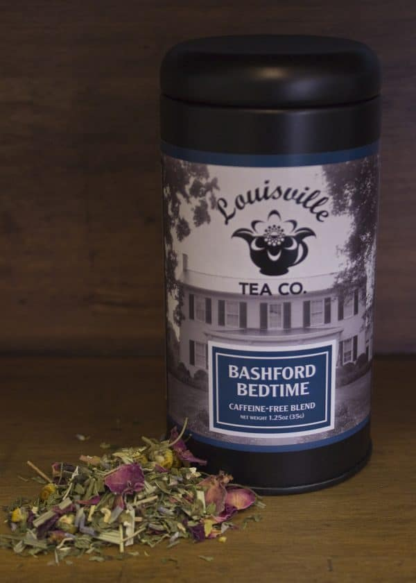 bashford bedtime tin of tea