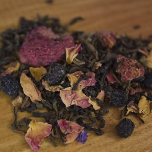 Raspberry Black Decaf tea