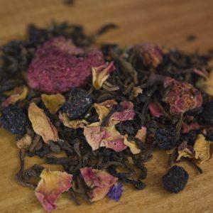 Raspberry Black Decaf tea