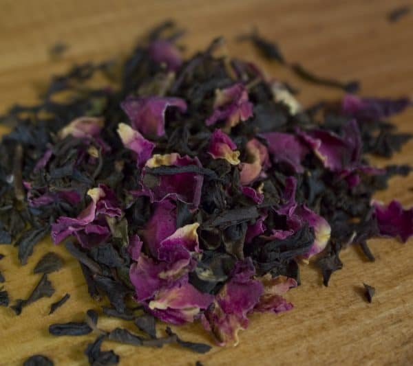 Vanilla Rose Oolong tea