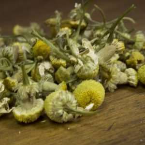 chamomile blossom herbal tea