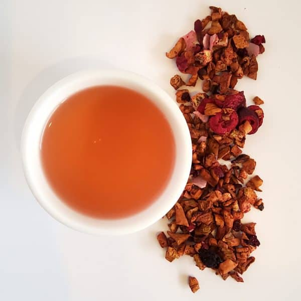 cherokee park cherry kiwi coconut fruit tea