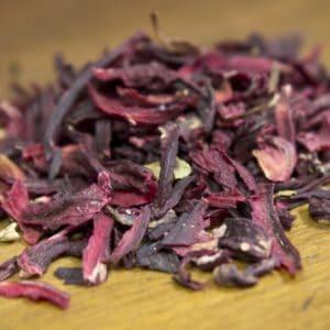 hibiscus blossom tea