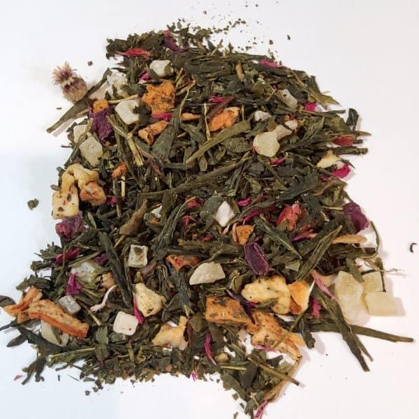 pink guava green tea