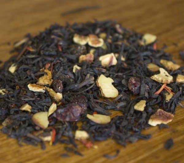 Christmas spiced black tea