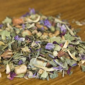 herbal loose leaf tea leaves