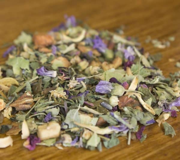 herbal loose leaf tea leaves