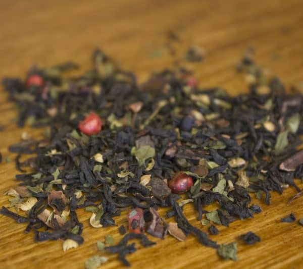 peppermint chocolate black tea