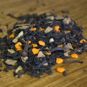 pumpkin spiced loose leaf tea chai