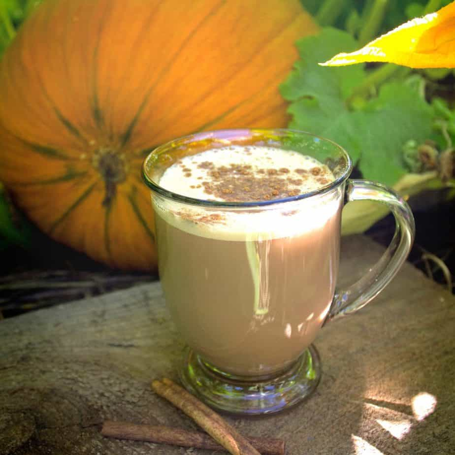 pumpkin patch chai latte