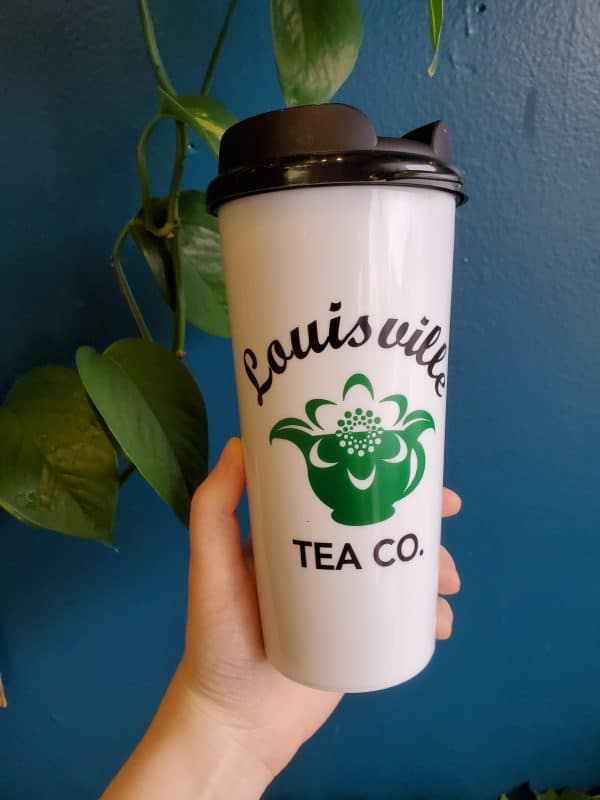 Louisville Tea Company travel mug