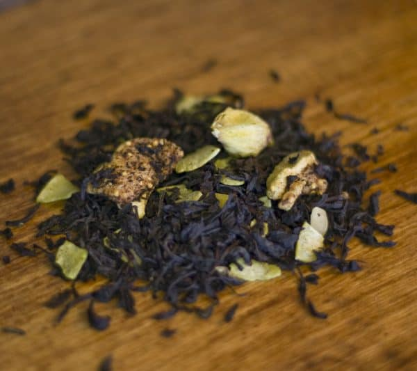 Coconut Fig black tea