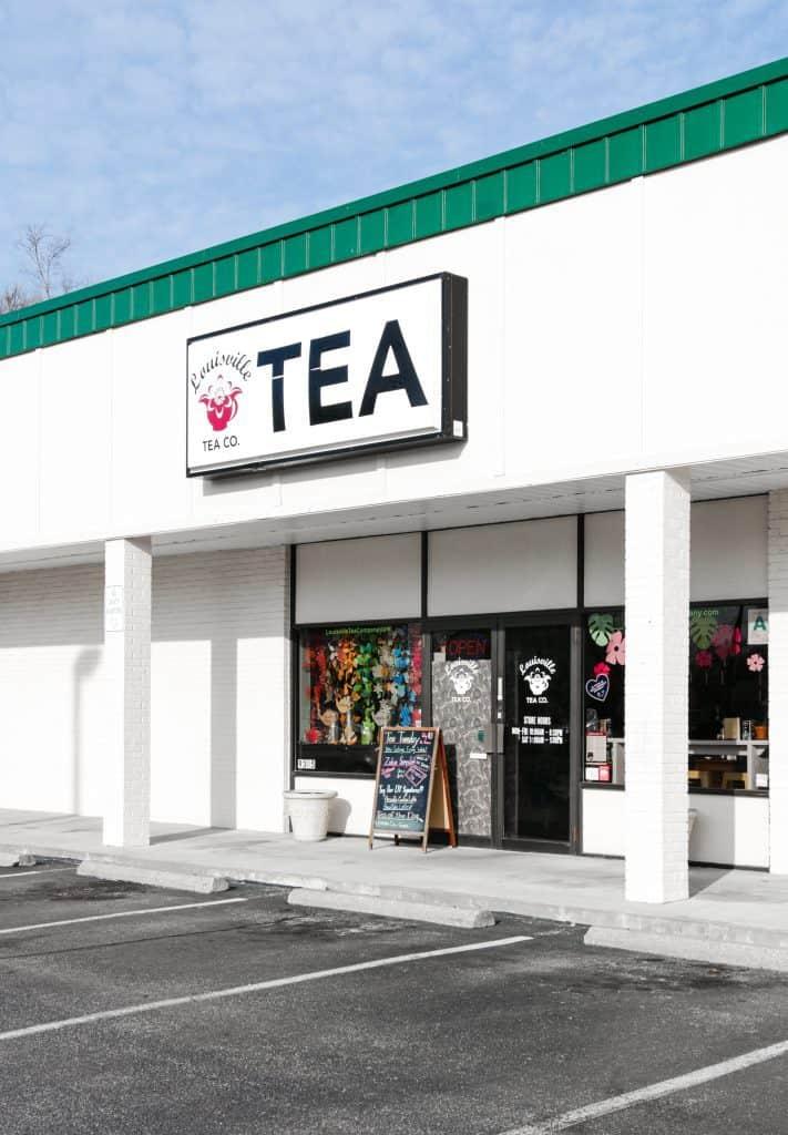 Louisville Tea Company storefront
