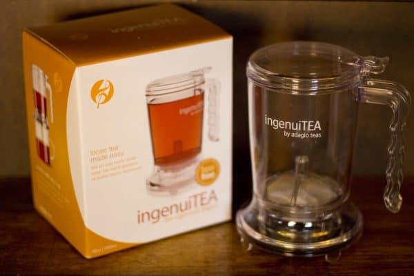 Ingenuitea loose leaf tea brewer