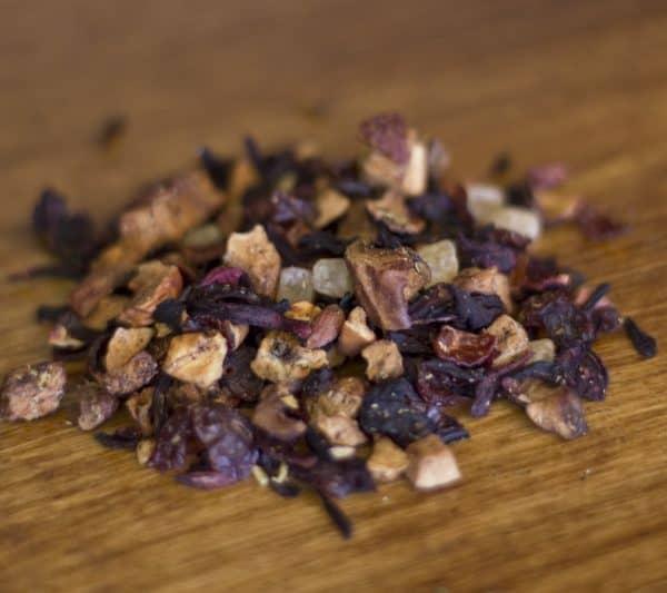 Pina Colada fruit hibiscus tea
