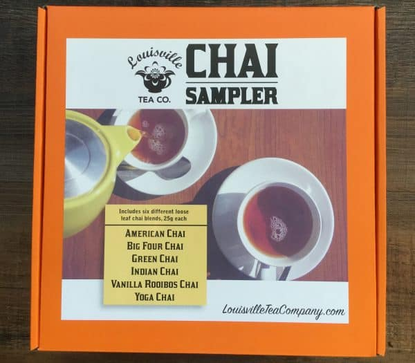 chai sampler gift box loose leaf tea