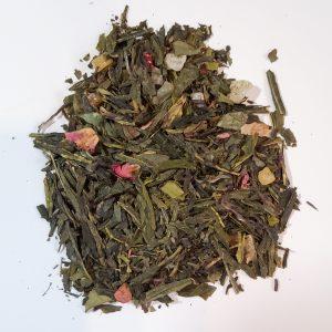 fairy garden strawberry green tea