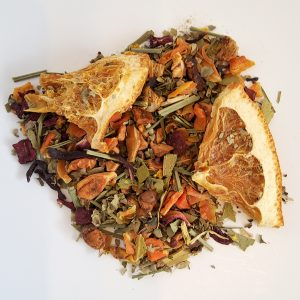 grapefruit orange herbal tea