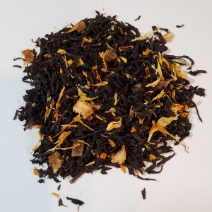 key lime pie black tea