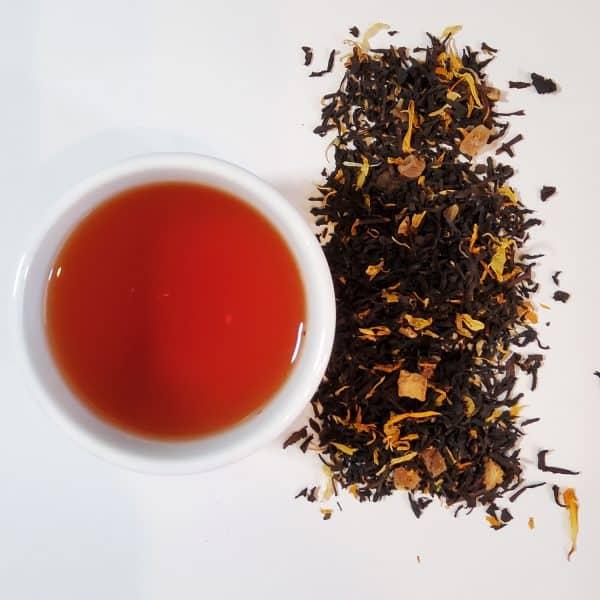 key lime pie black tea