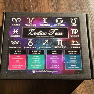 zodiac tea sampler box