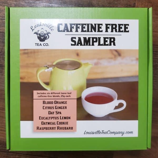 Caffeine Free herbal tea Sampler box