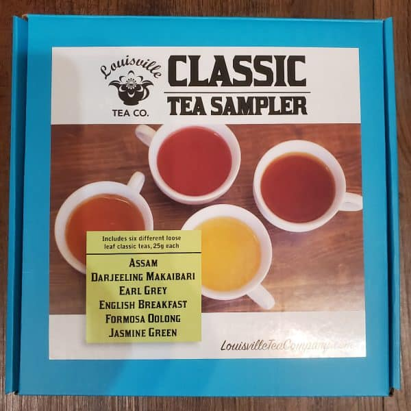 Classic loose leaf Tea Sampler box