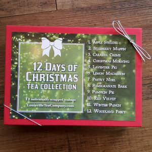 12 Days of Christmas tea sampler gift