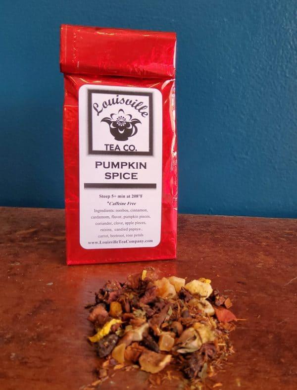 pumpkin spice rooibos tea