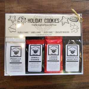 Holiday Cookies world tea sampler