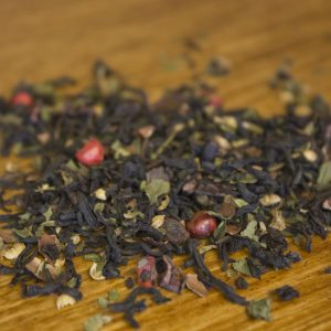 Pepper Twist peppermint chocolate black tea