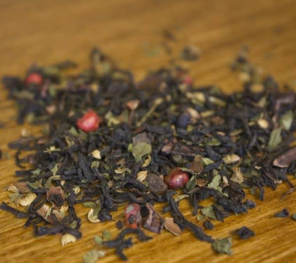 Pepper Twist peppermint chocolate black tea