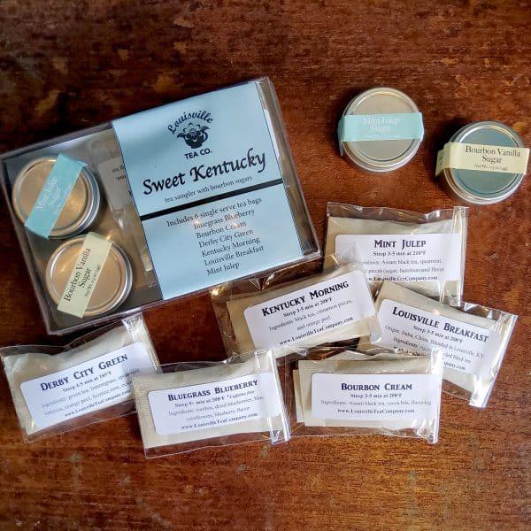 Sweet Kentucky tea and bourbon sugar sampler details