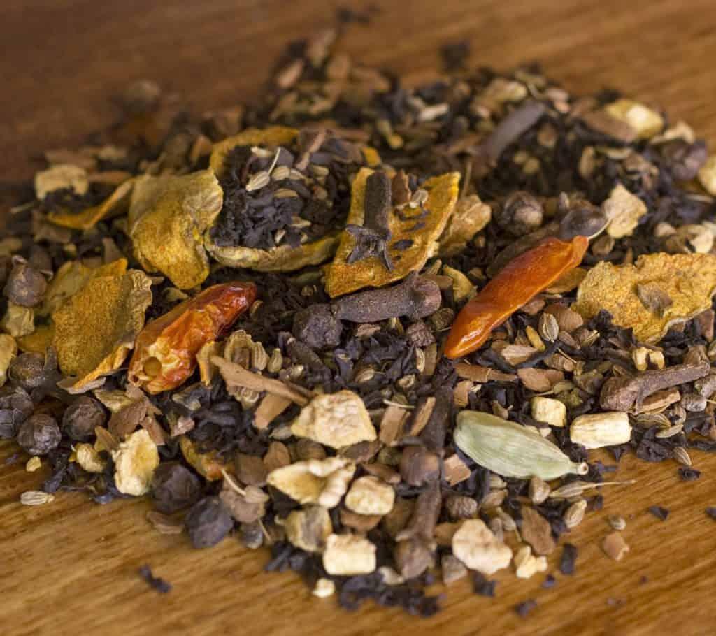 Turmeric Chai spicy black tea