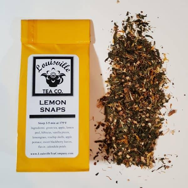 Lemon Snaps Green Tea